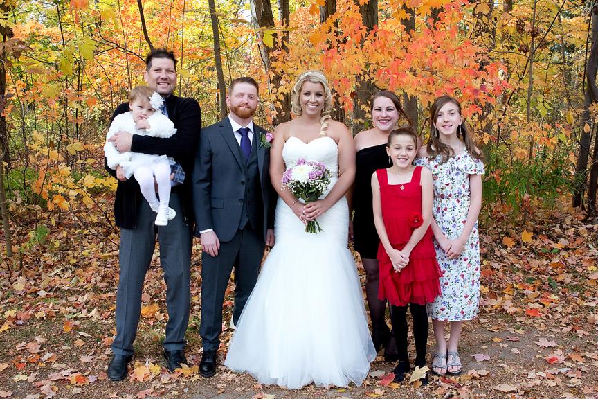 Groom's family at Adamson Estate