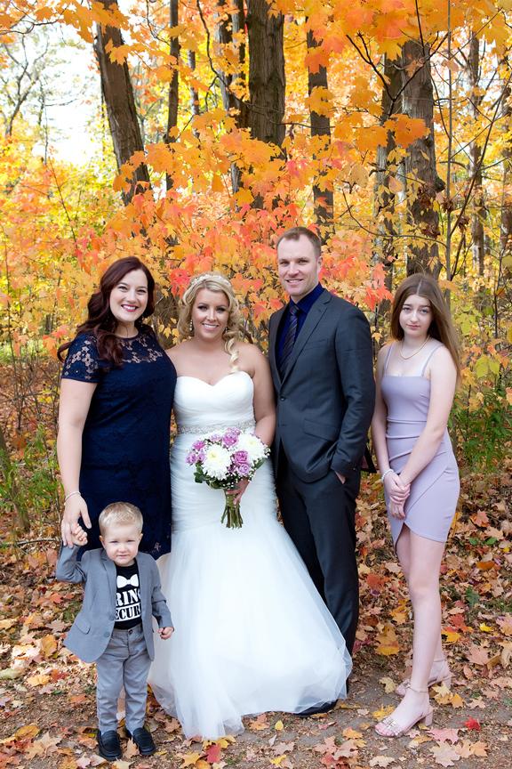 Brides family at Adamson Estate