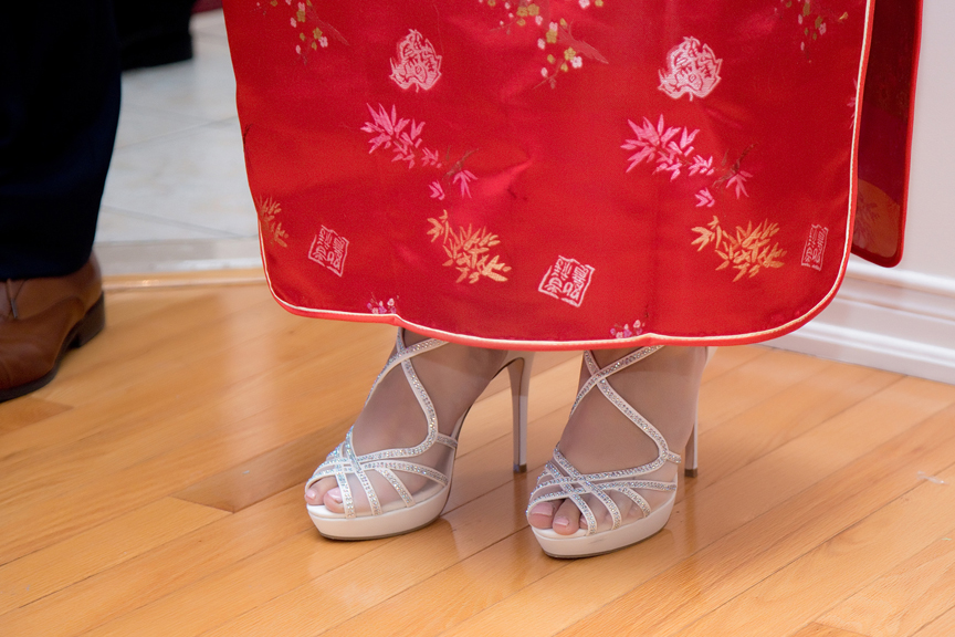 Chinese tea ceremony shoes