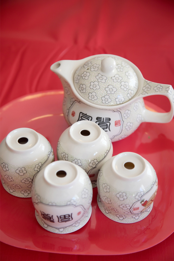 Chinese tea ceremony details