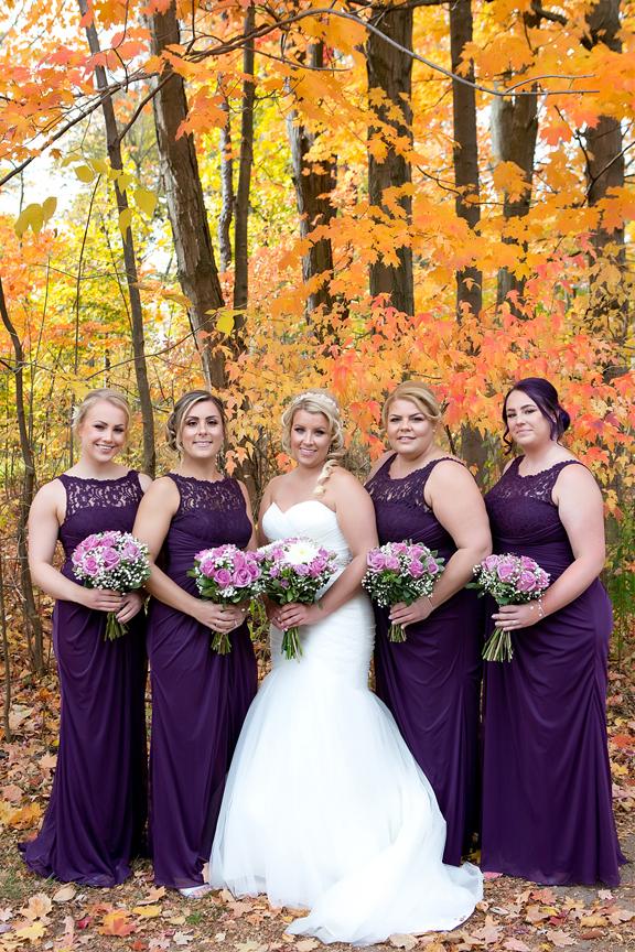 Bridesmaid portrait at Adamson Estate