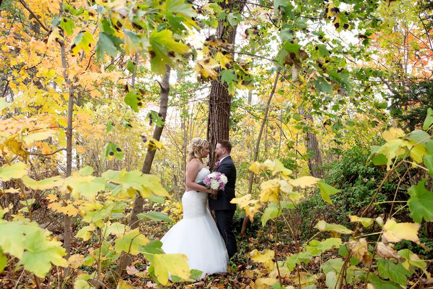 Wedding portrait at Adamson Estate