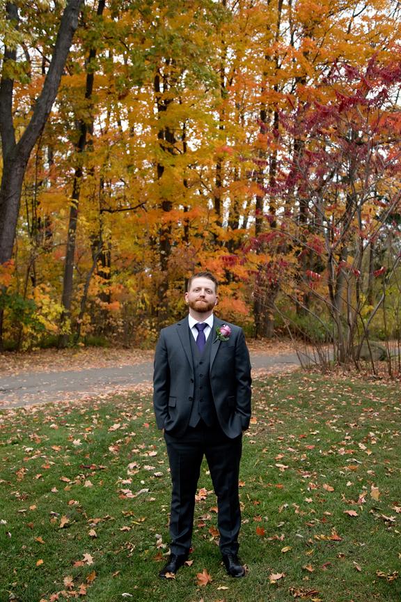 Groom portrait at Adamson Estate