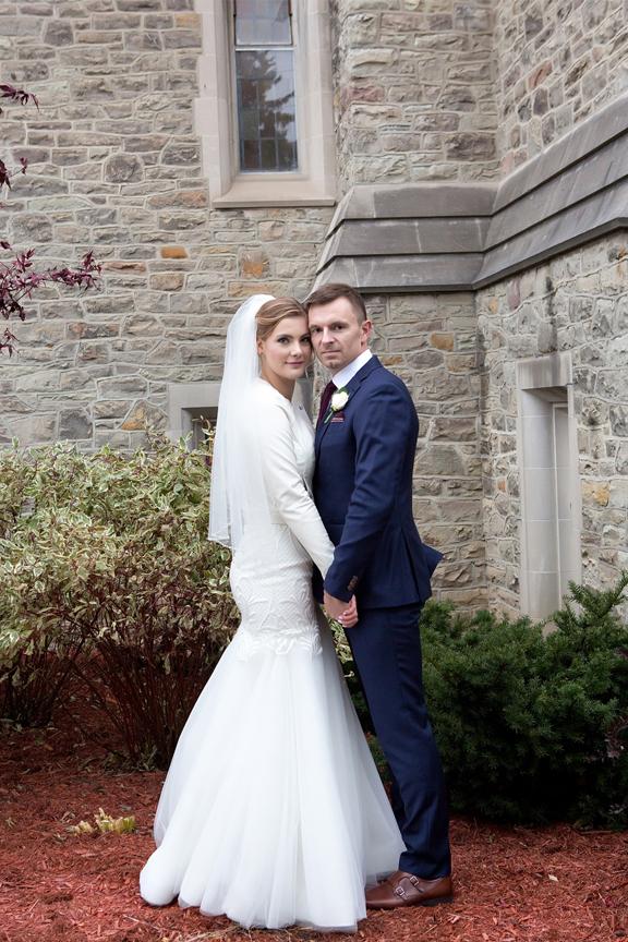 Wedding couple Islington United Church