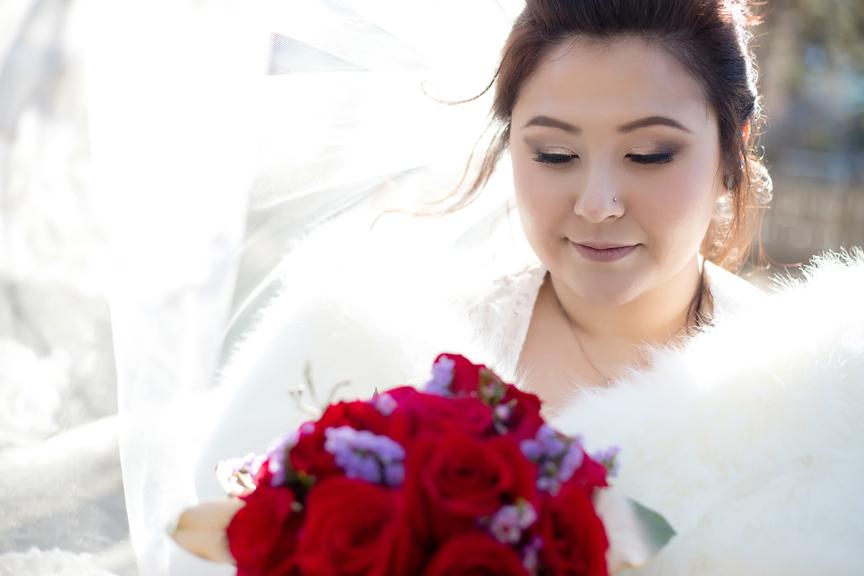 bride portrait at Kariya Park