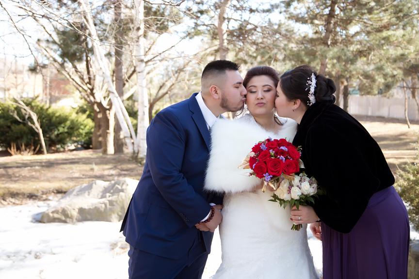 bridesmaids at Kariya Park