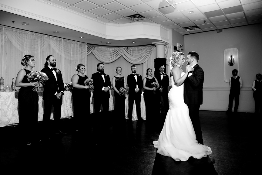 First dance at Le Treport Wedding & Convention Centre