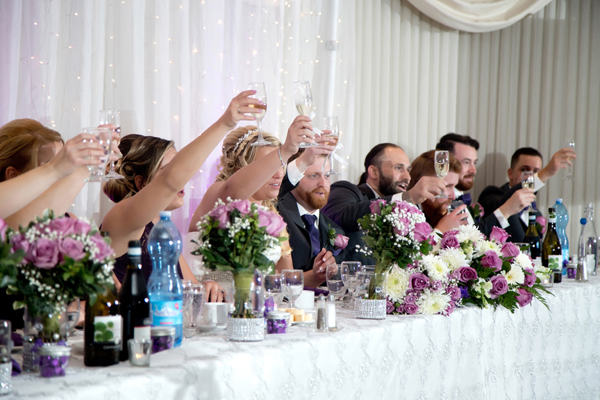 Cheers at Le Treport Wedding & Convention Centre