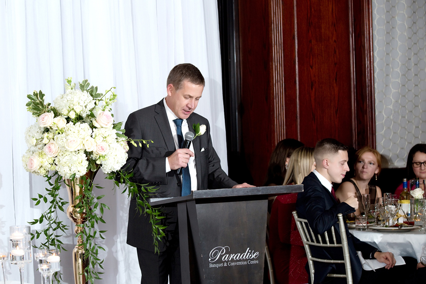 Father of the bride speech at Paradise Banquet Hall