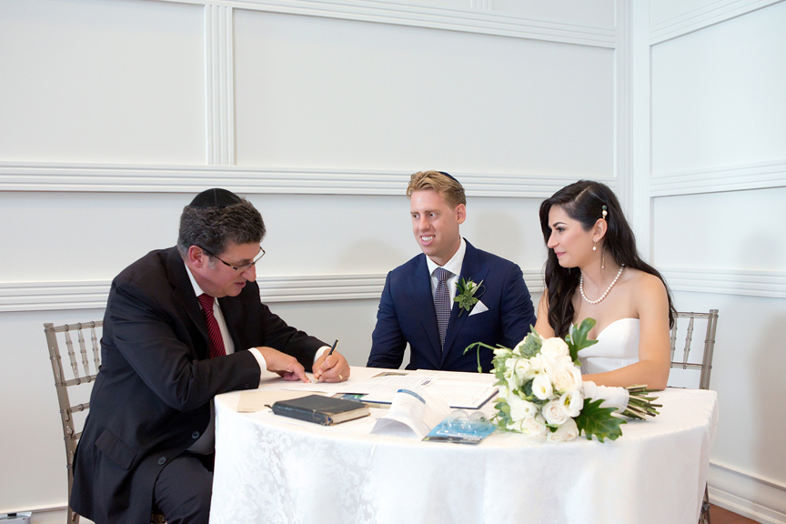 ketubah at Terrace Banquet Hall