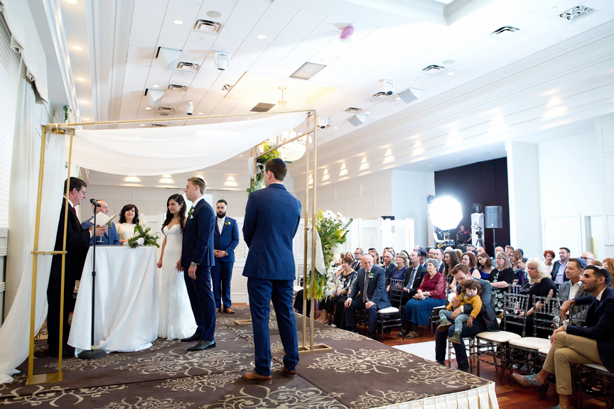 jewish wedding ceremony at Terrace Banquet Hall