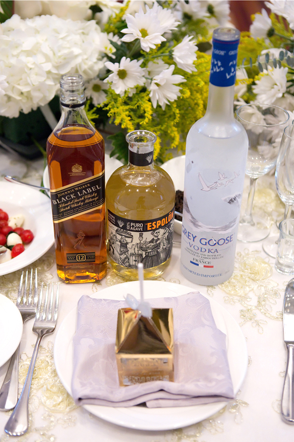 wedding alcohol at Terrace Banquet Hall