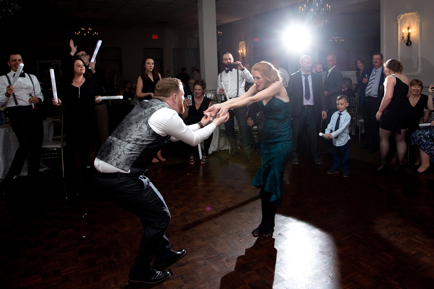 Mother son dance at at Le Treport Wedding & Convention Centre