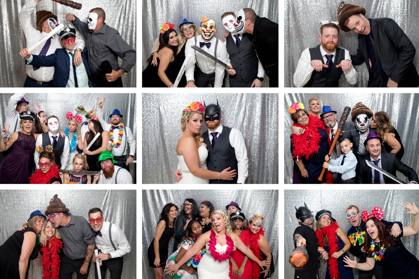 Photo booth at at Le Treport Wedding & Convention Centre