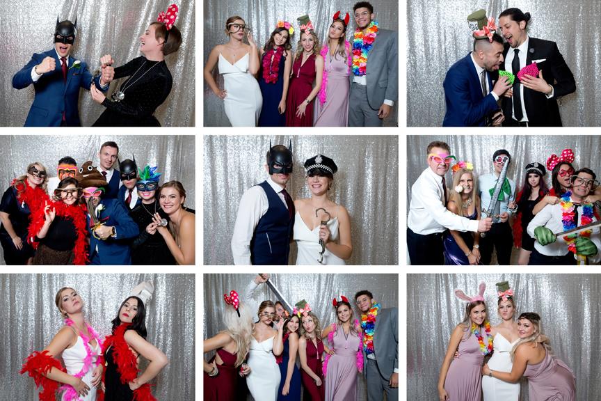 Photo Booth fun at Paradise Banquet Hall