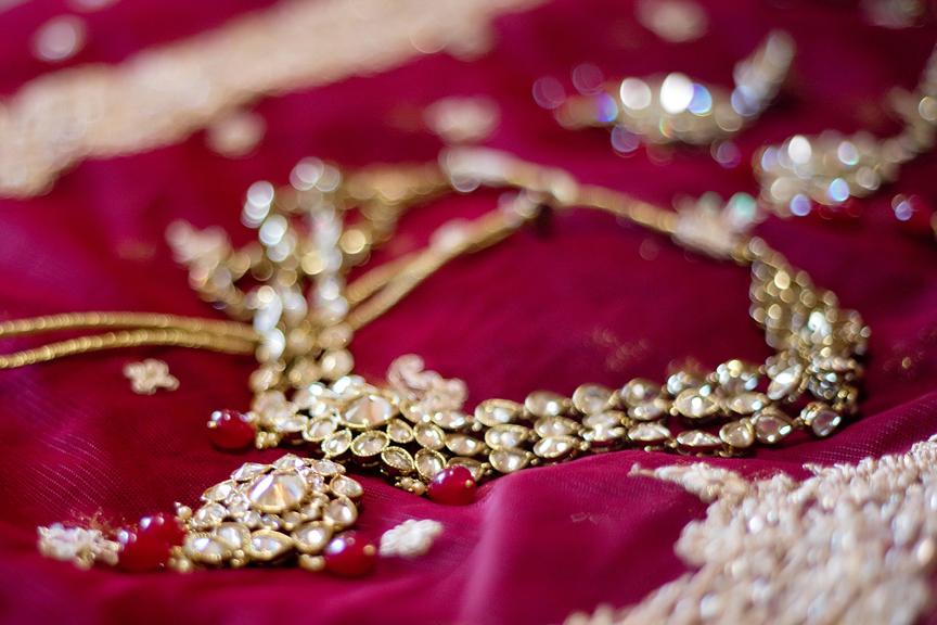 bride prep necklace