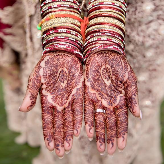 hindu wedding henna