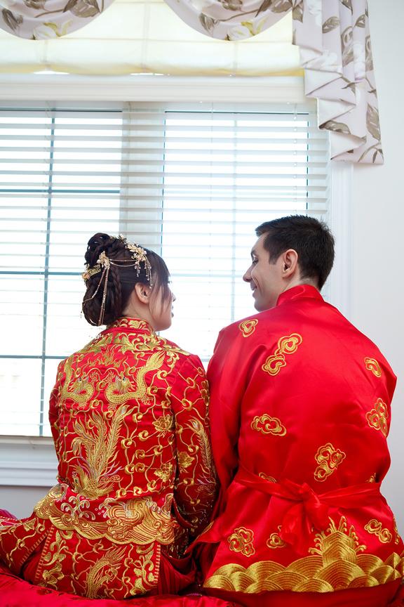 Chinese tea ceremony portraits