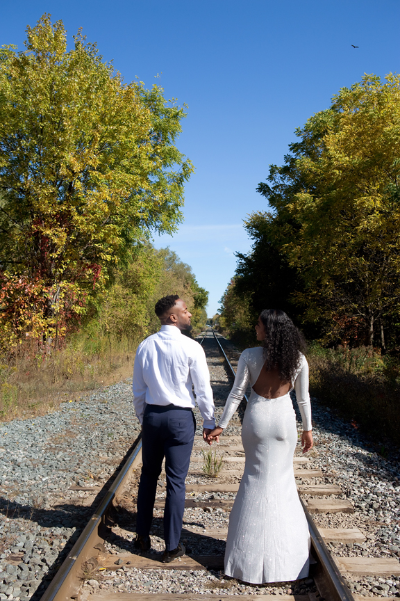 Couple portrait in Unionville