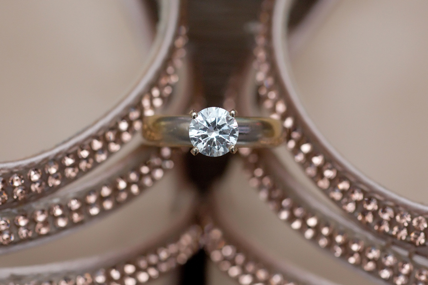bride prep engagement ring