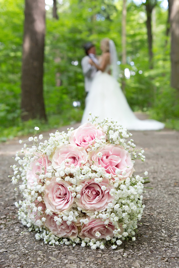 bridal bouquet at Kortright Centre for Conservation