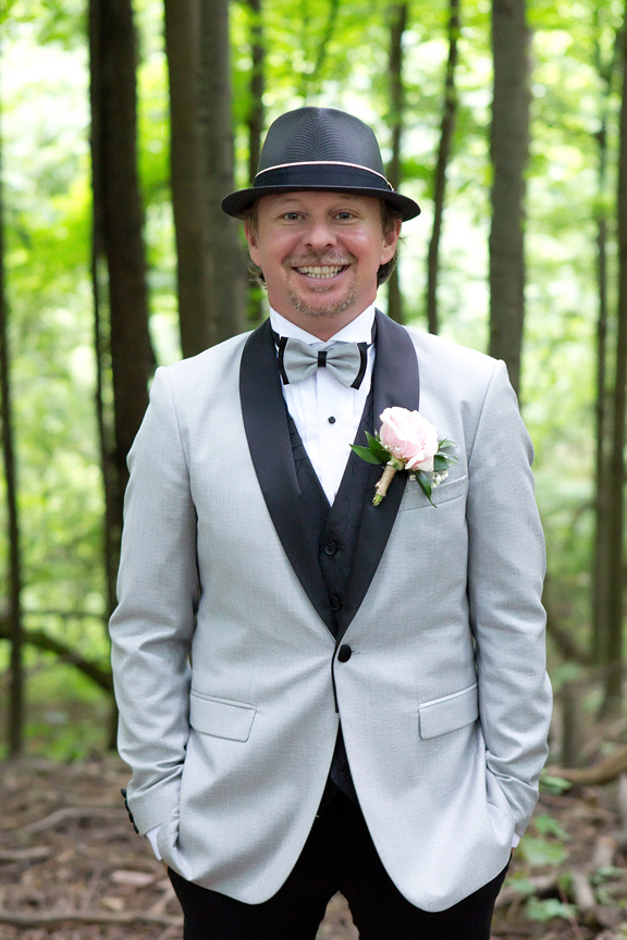 groom portrait at Kortright Centre for Conservation
