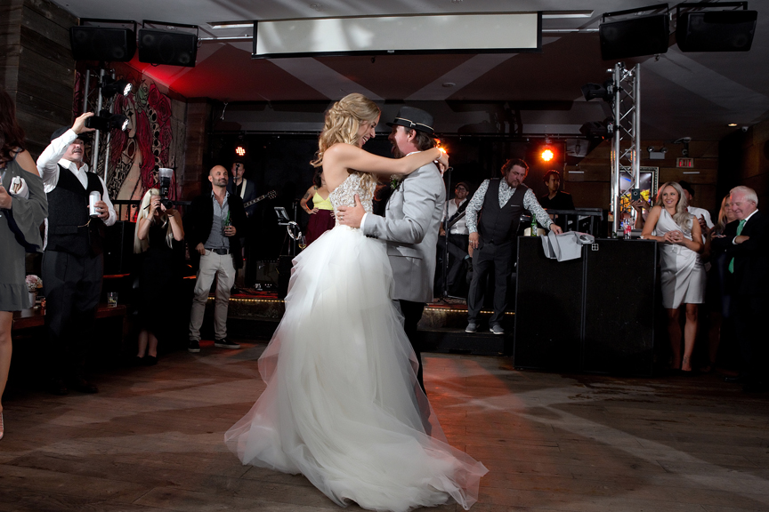first dance at The Hideout