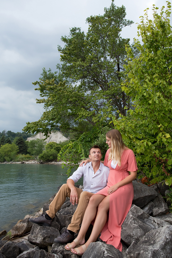 waterfront portraits at Scarborough Bluffs