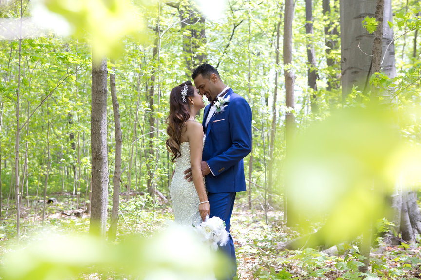 wedding couple at Milken Park
