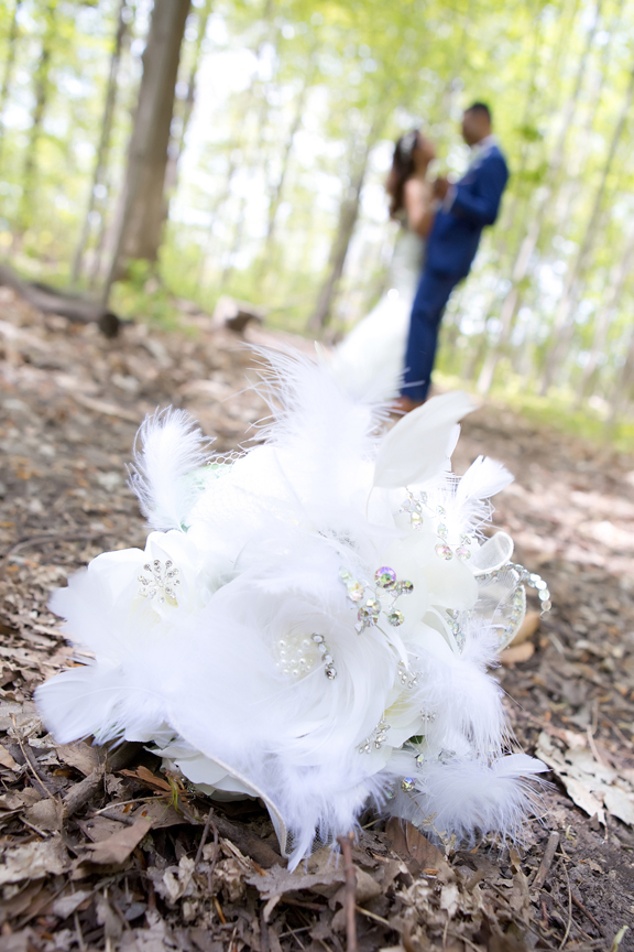 bridal bouquet at Milken Park