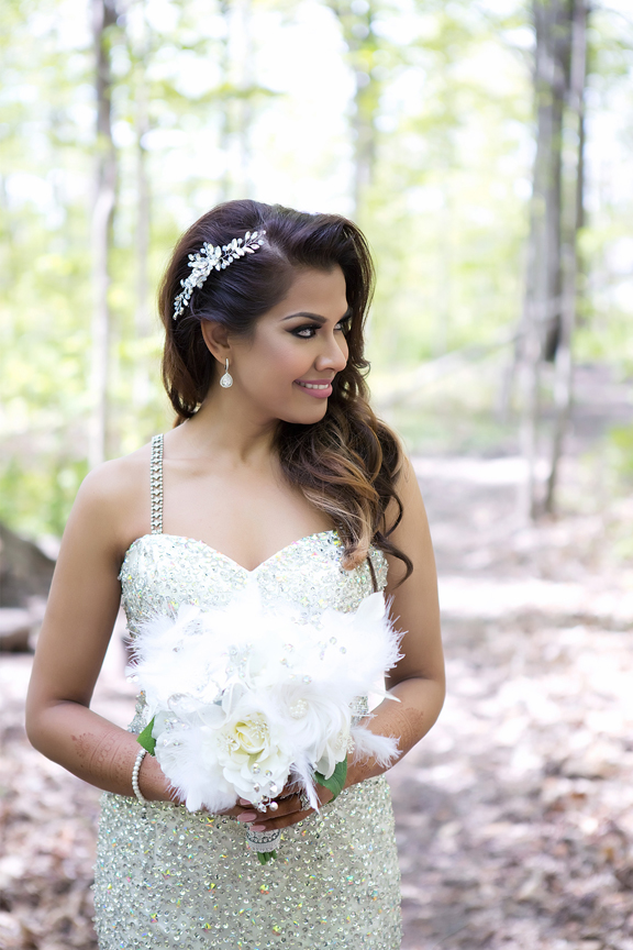bride portrait at Milken Park