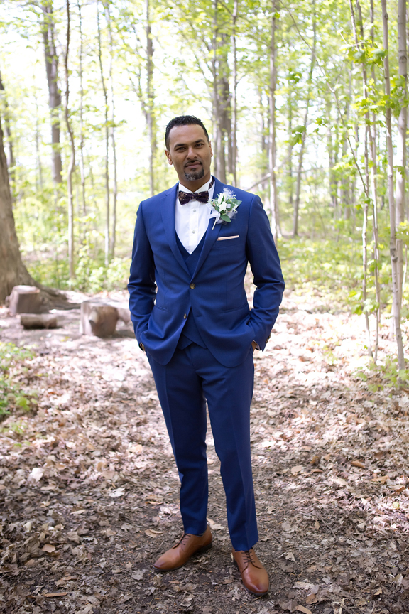 groom portrait at Milken Park