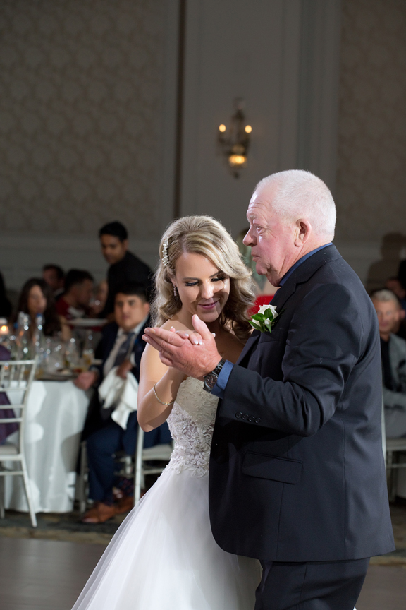 father daughter dance at Hazelton Manor