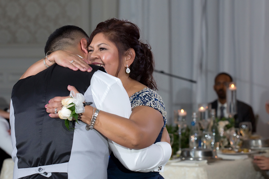 mother son dance at Hazelton Manor