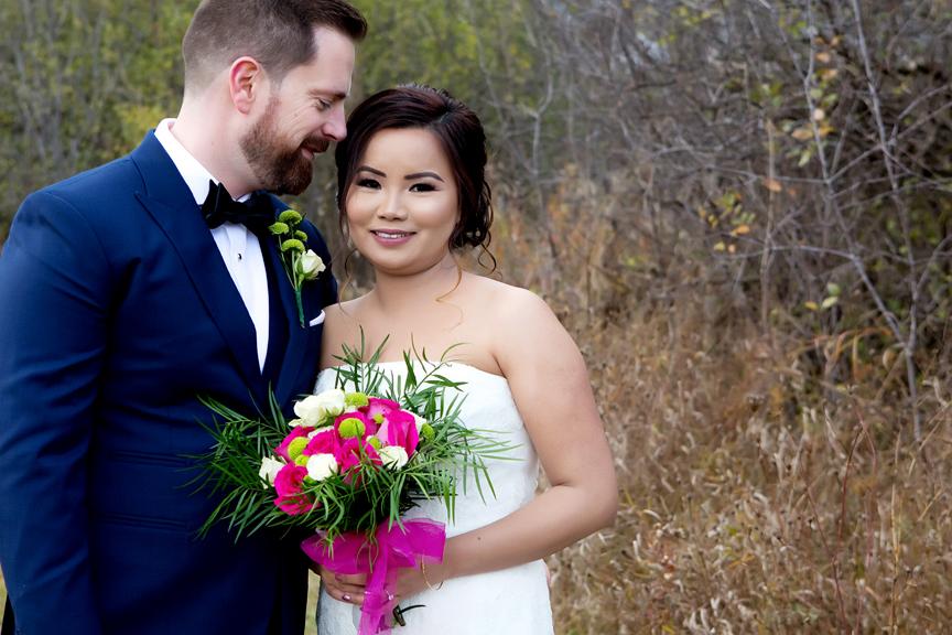 couple portrait at Claireville Park