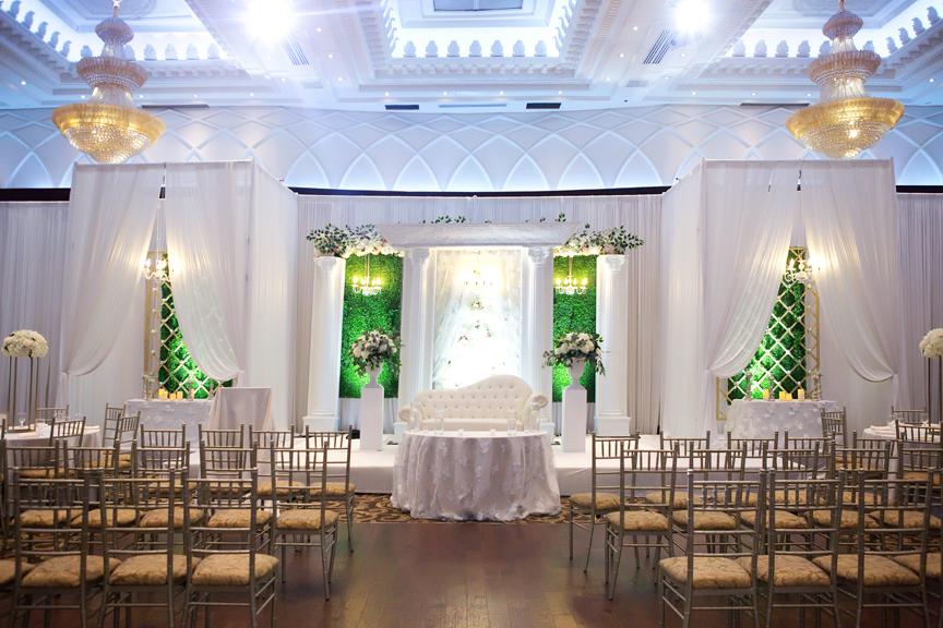 ceremony setup at Grand Empire Banquet And Convention Centre
