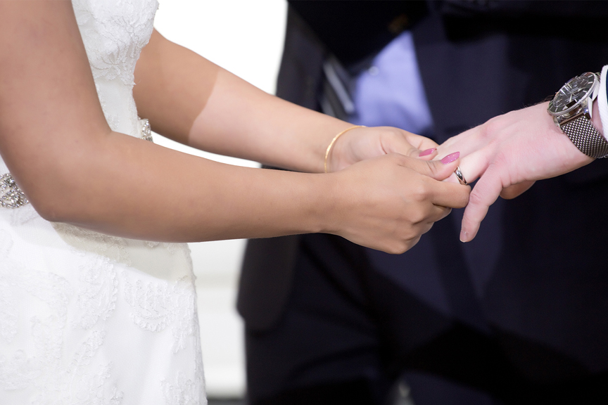 ring exchange at Grand Empire Banquet And Convention Centre
