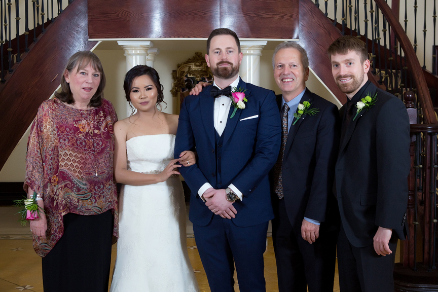 family portrait at Grand Empire Banquet And Convention Centre