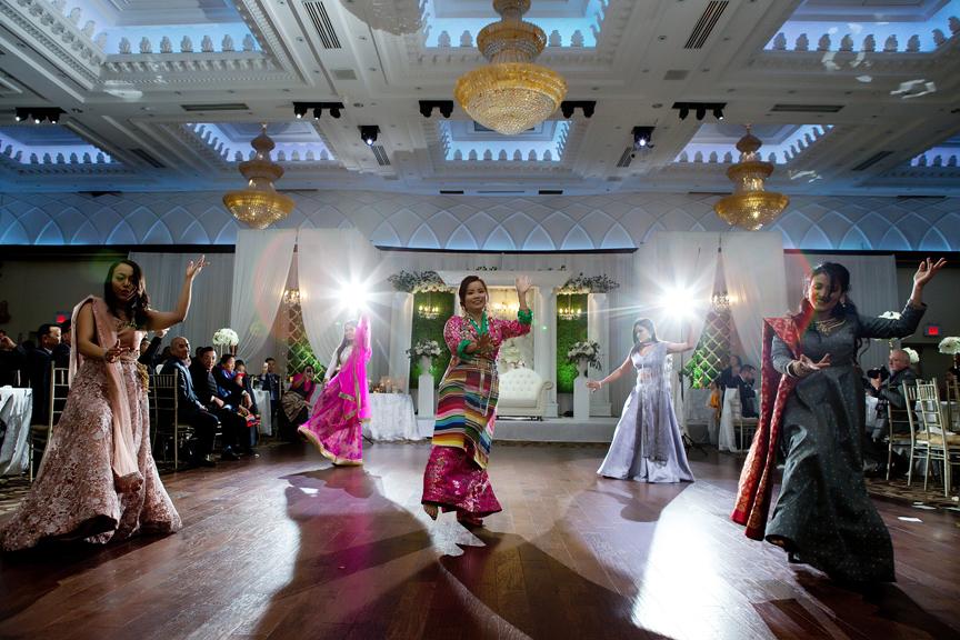 Buddhist Wedding performance