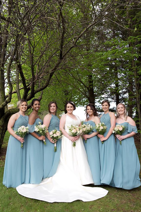 bridesmaids wedding