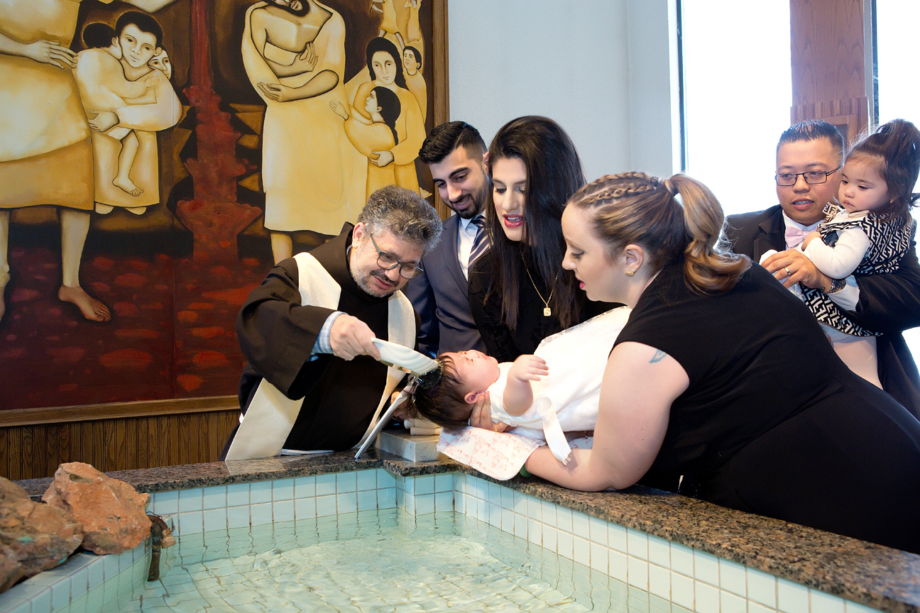 Baptism ceremony