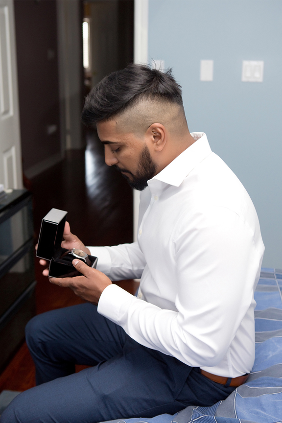 groom prep gift watch