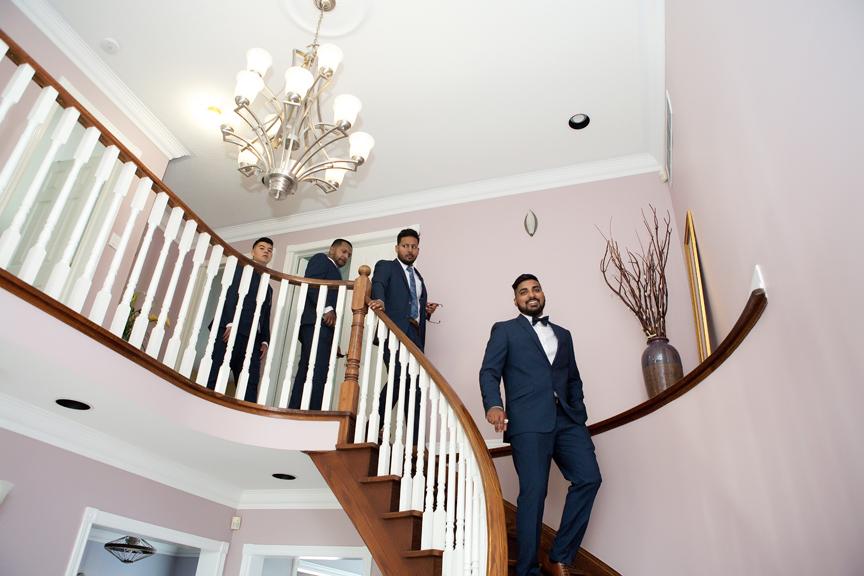 groom prep all dressed