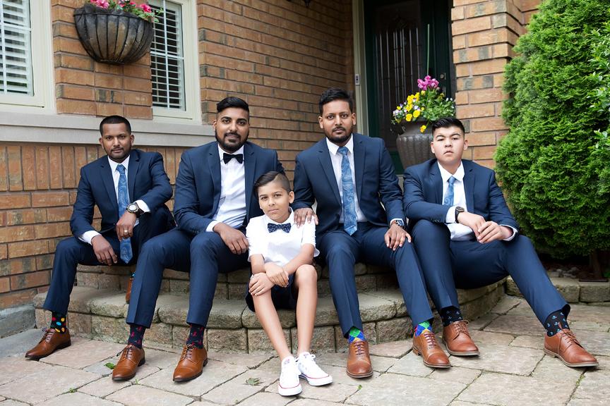 groom prep groomsmen