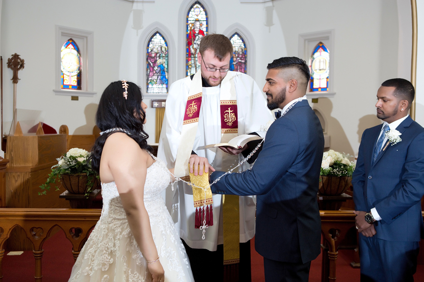 draping ceremony at St Stephens Anglican Church