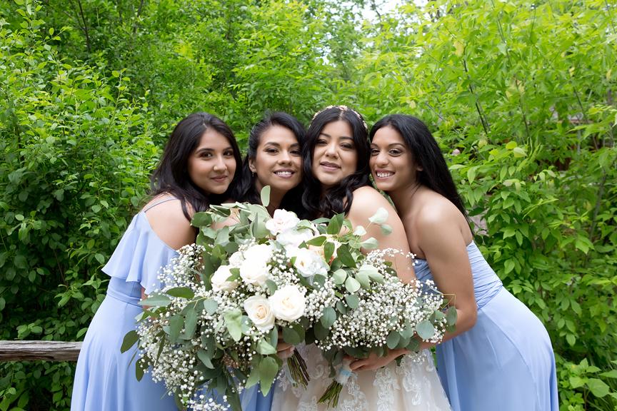 bridesmaids at St Stephens Anglican Church