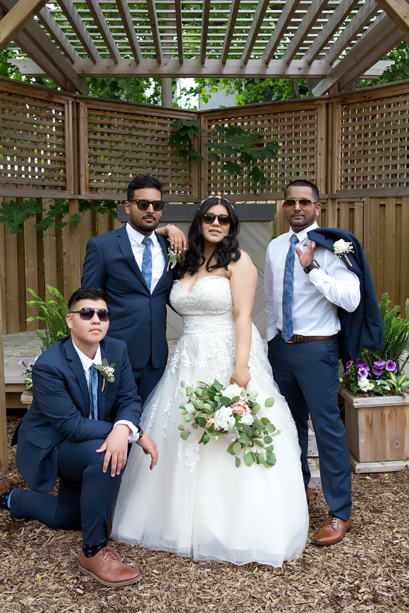 groomsmen at St Stephens Anglican Church