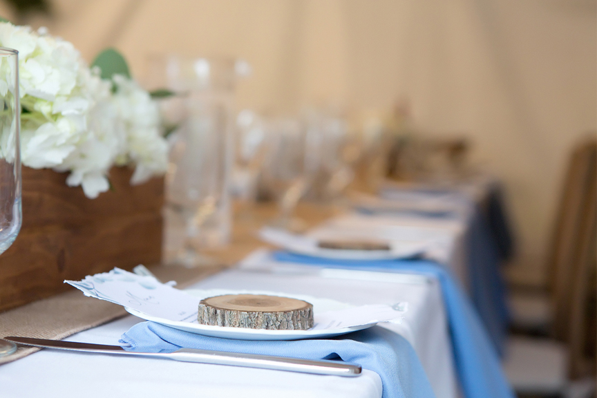 party favours in backyard wedding