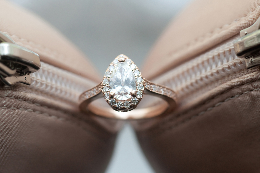 bride prep engagement ring