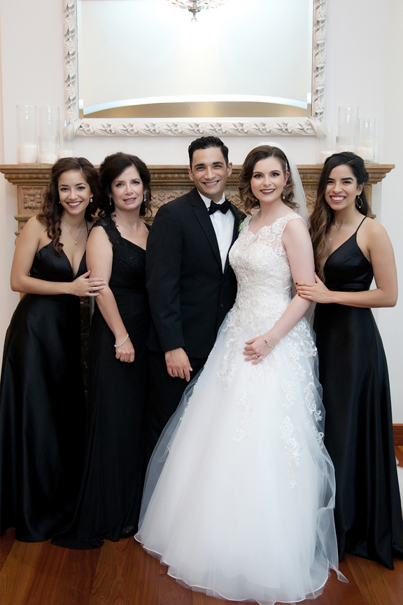 groom's family at Rosewater Room